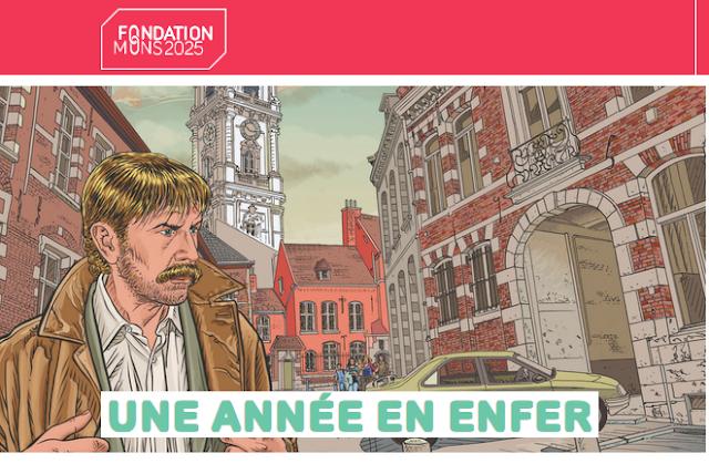 Une année en Enfer-L'exposition à Mons