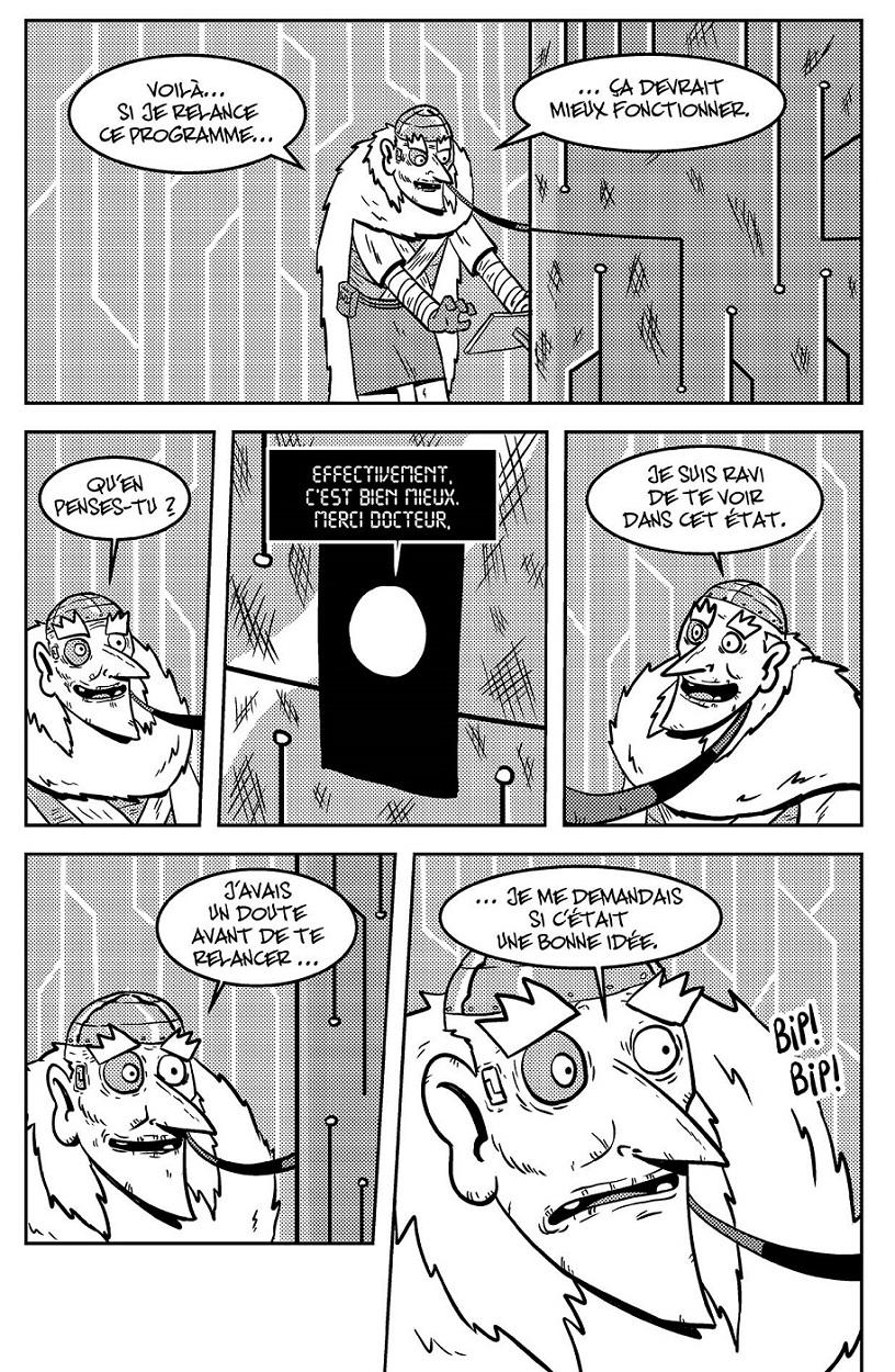 Doc Bot face à Eve