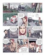Lucie, dans les roues de l'Histoire (planche 3, Futuropolis 2018)