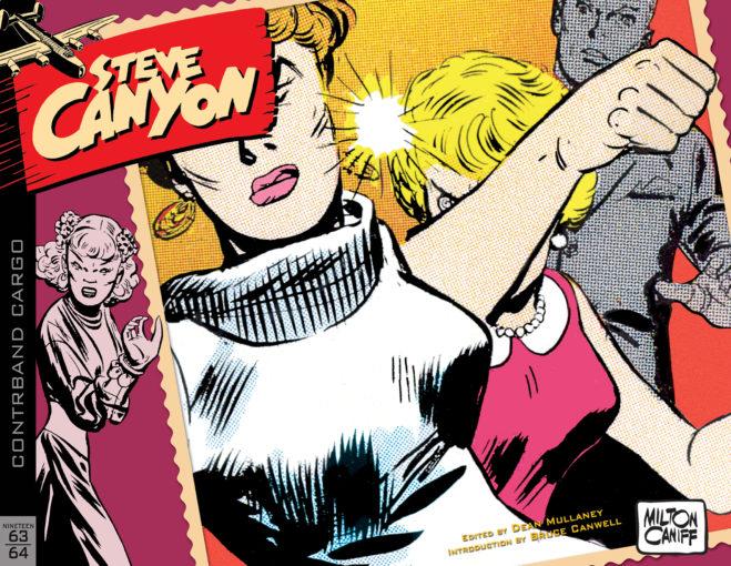 Le tome 9 de l'édition américaine de « Steve Canyon », chez IDW Publishing, publié en novembre 2018.  chez IDW Publishing