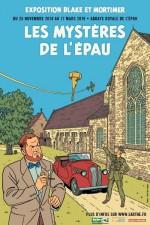 Affiche pour l'exposition à l'abbaye de l'Epau