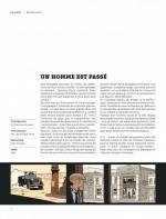 """Pages de présentation pour le film """"Un Homme sans passé"""" (John Sturges, 1954)"""
