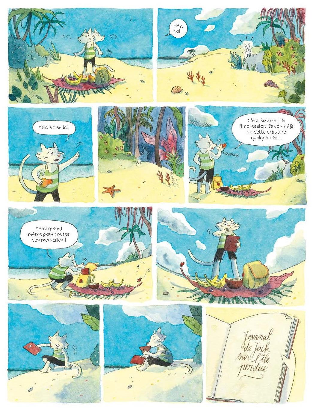 Chroniques de l'île perdue page 27