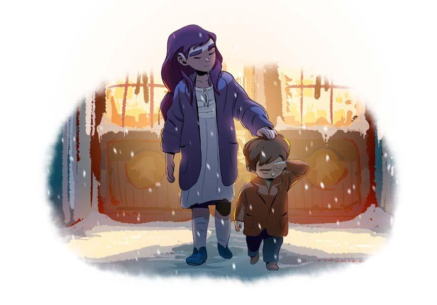 Indira et Eliott