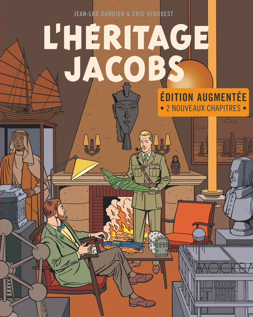 L'Héritage Jacobs (Dargaud 2018)