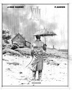 Crayonné original de Philippe Xavier pour la couverture