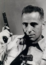 "Bogart dans ""High Sierra"" (photos promotionnelles) et Tyler Cross"