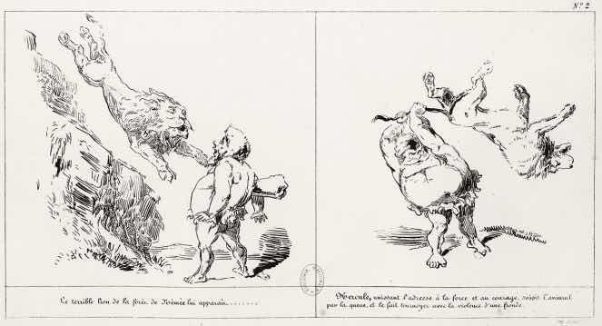 « Les Travaux d'Hercule » par Gustave Doré.