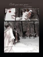 La mort dans les yeux (planches 1 et 4 - Glénat 2018)
