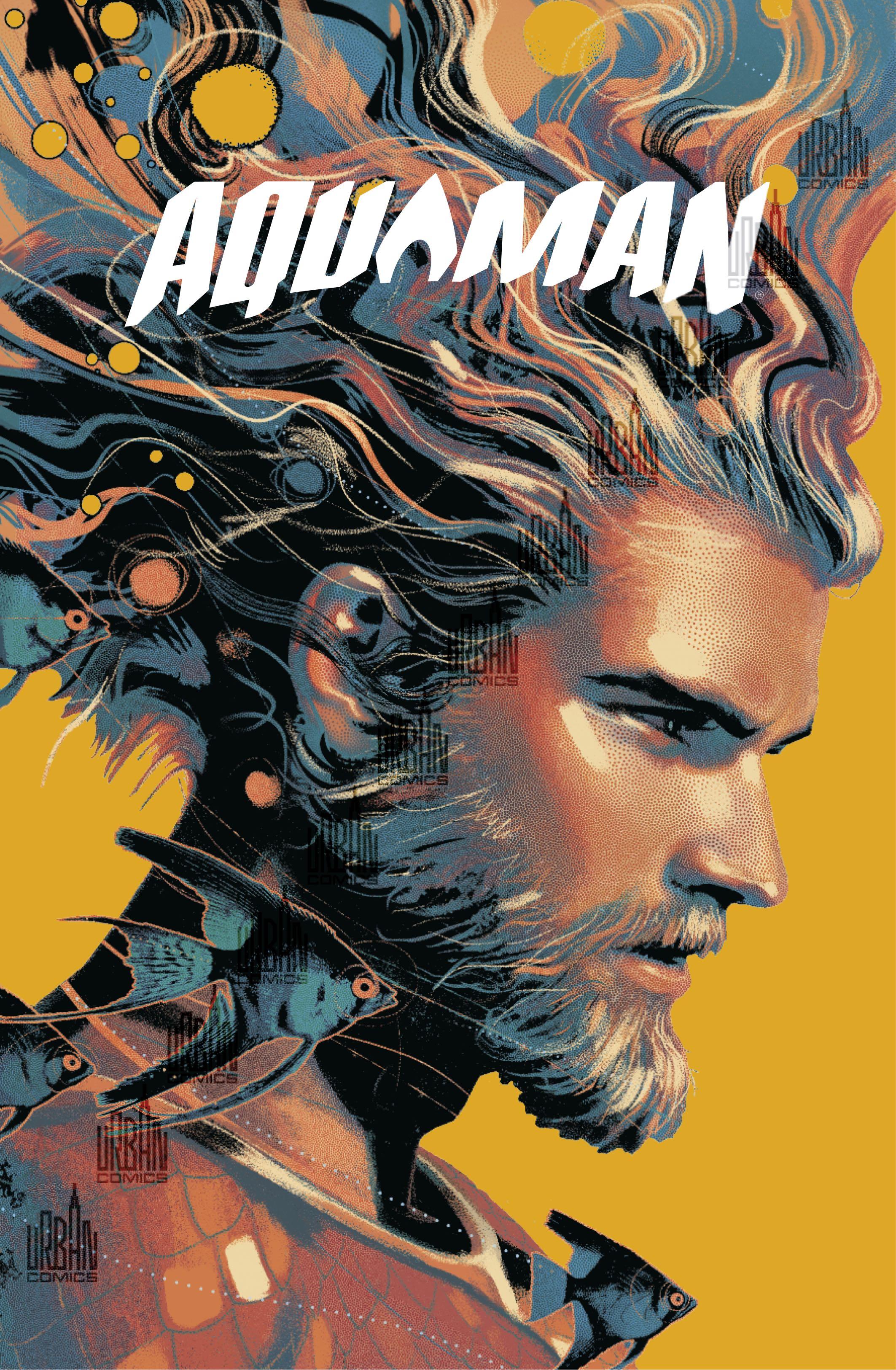 Aquaman rebirth T4 portrait barbu