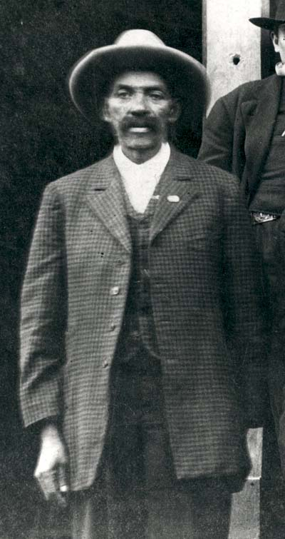 Bass Reeves en 1907