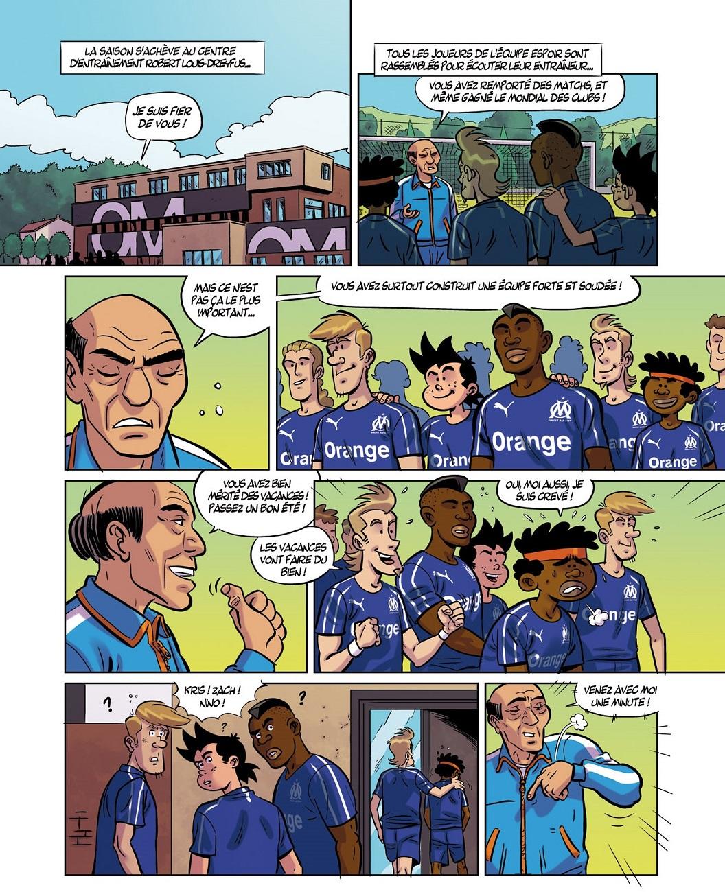 Droit au but T15 page 1