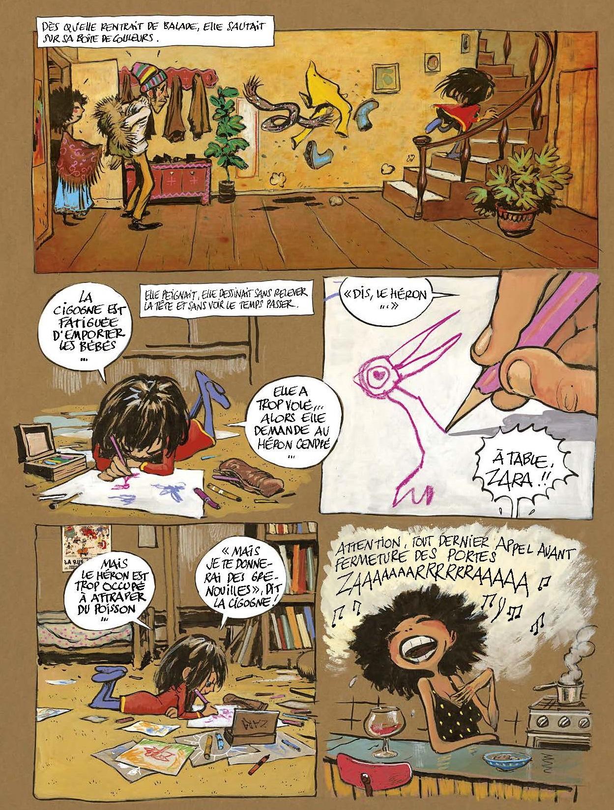 Le secret de Zara page 4