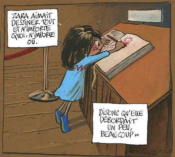 Zara et le livre d'or