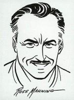 Autoportrait de Russ Manning.