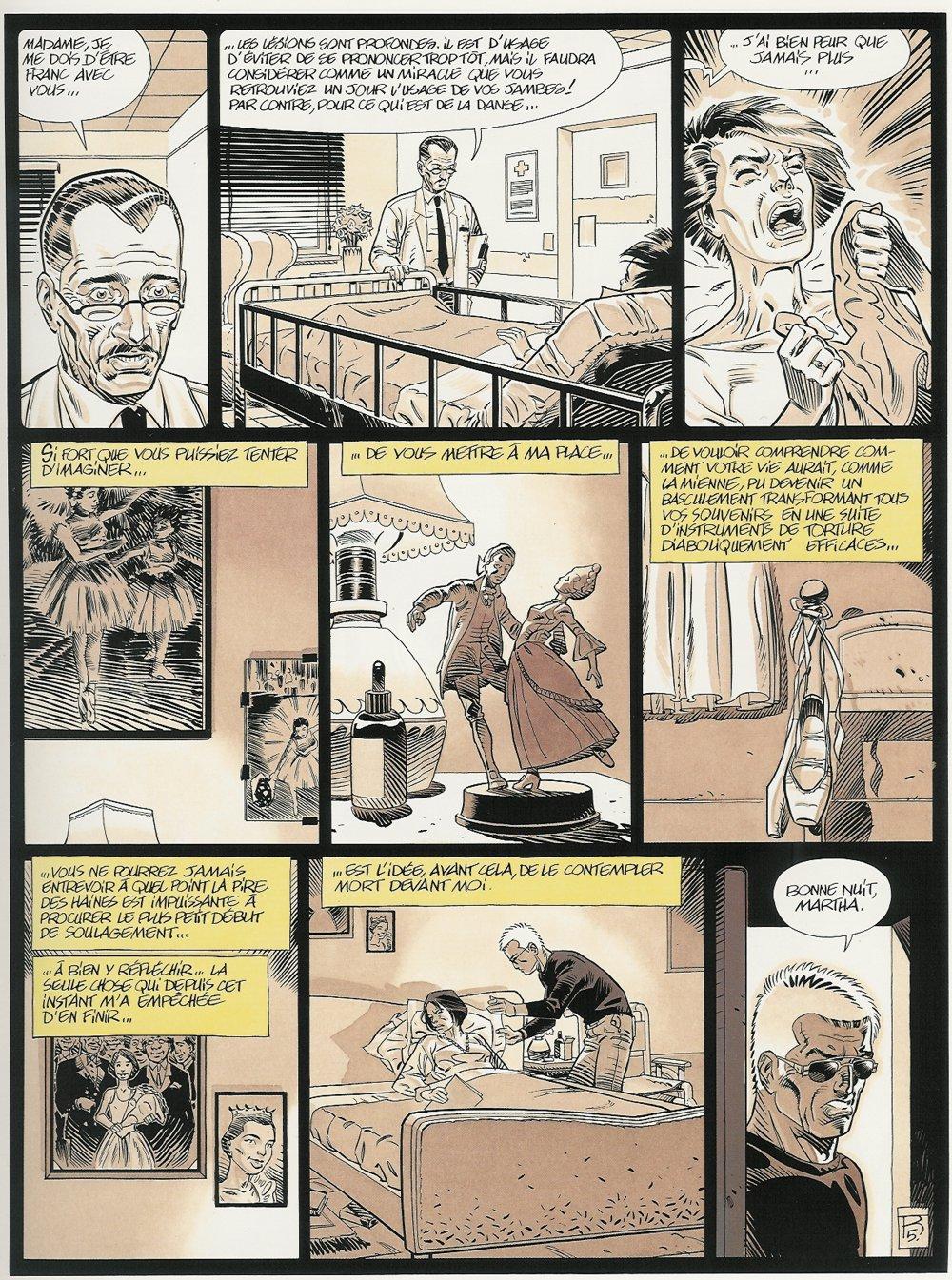 """Extrait du T2 : """"Les Jambes de Martha"""" (planche 5 - Dargaud 1999)"""