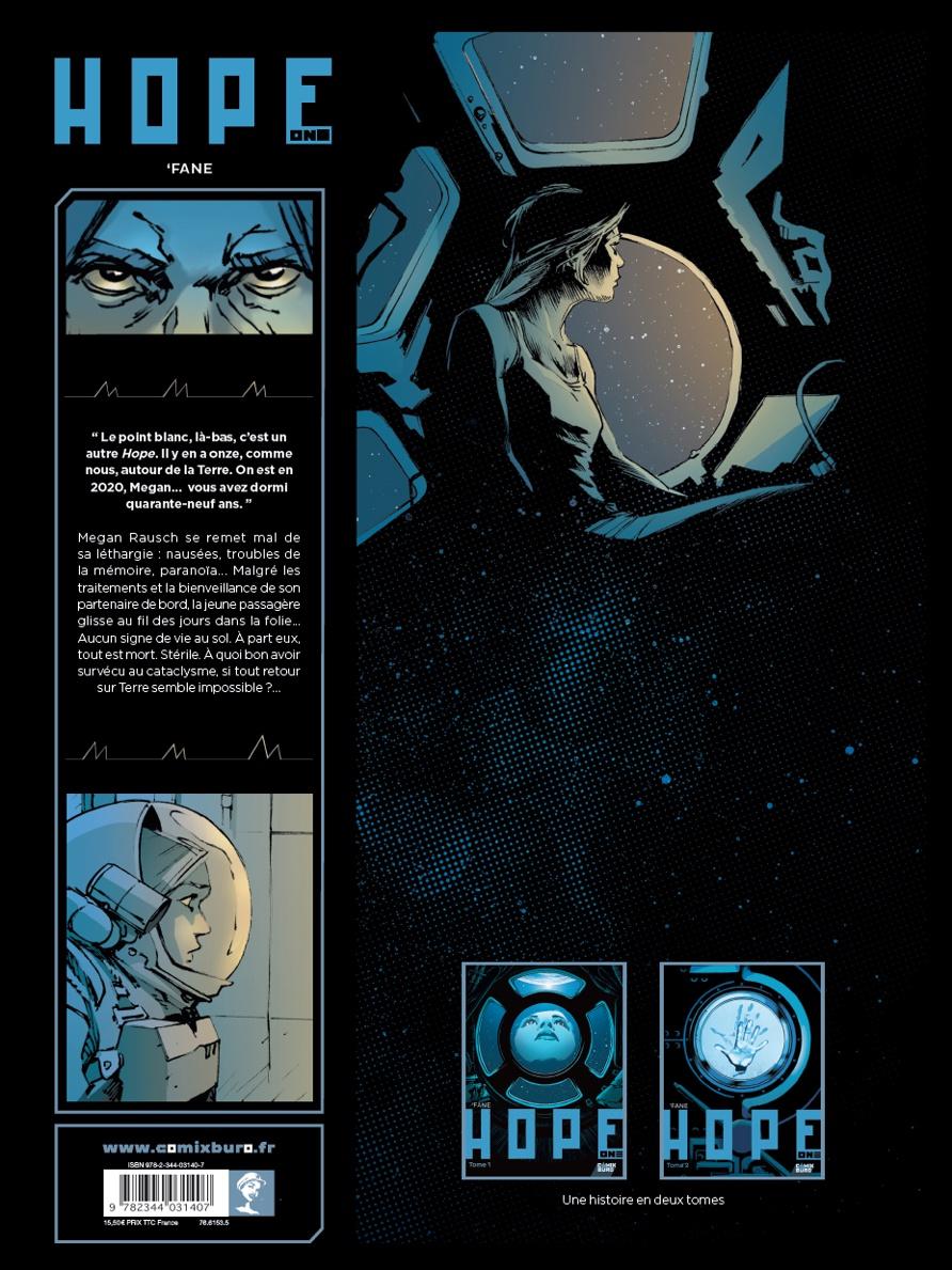 4ème de couverture et visuels pour les deux tomes