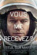 """Seul au monde... martien (affiche teaser pour le film """"Seul sur Mars"""" en 2015)"""