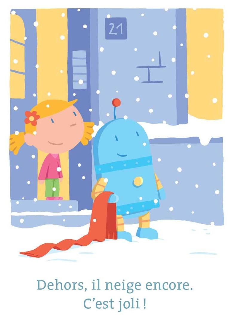 Nono sous la neige