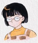 Rumiko-Takahashi_autoportrait