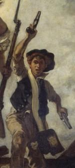 """Détail de """"La Liberté guidant le peuple"""" (Delacroix)"""
