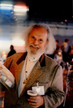 James Hodges au congrès national des magiciens, en 1995 (photo B. Joubert).