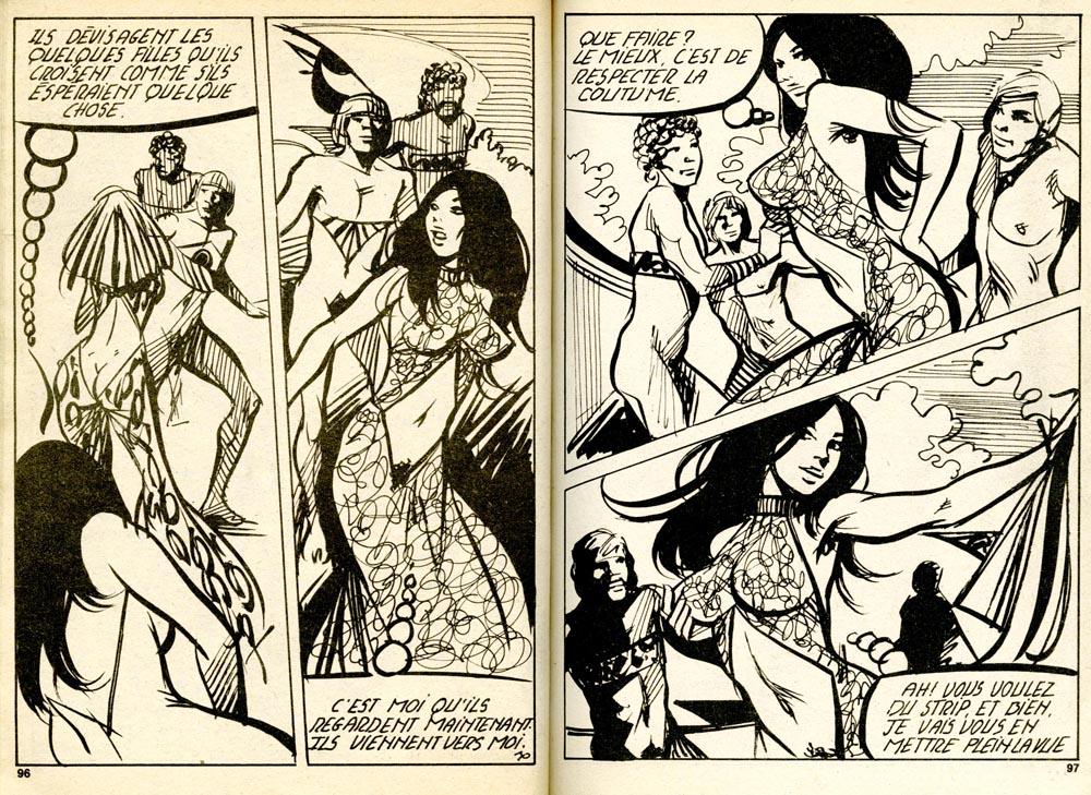 Pour répondre à la commande d'une maison d'édition lyonnaise, E.D.H., Hodges concentra sa production de BD de poche érotiques sur moins d'une année, même si la parution s'étala sur plusieurs, à partir de 1978, dans les pockets Sexovid, Erotik story, Erosgirl, Sex party, Condor et une dizaine d'autres. Christophe Pellegrin, qui l'assista sur ces bandes, n'intervint pas sur les personnages et les scénarios, se contentant de tracer les cases, lettrer, gommer, etc.