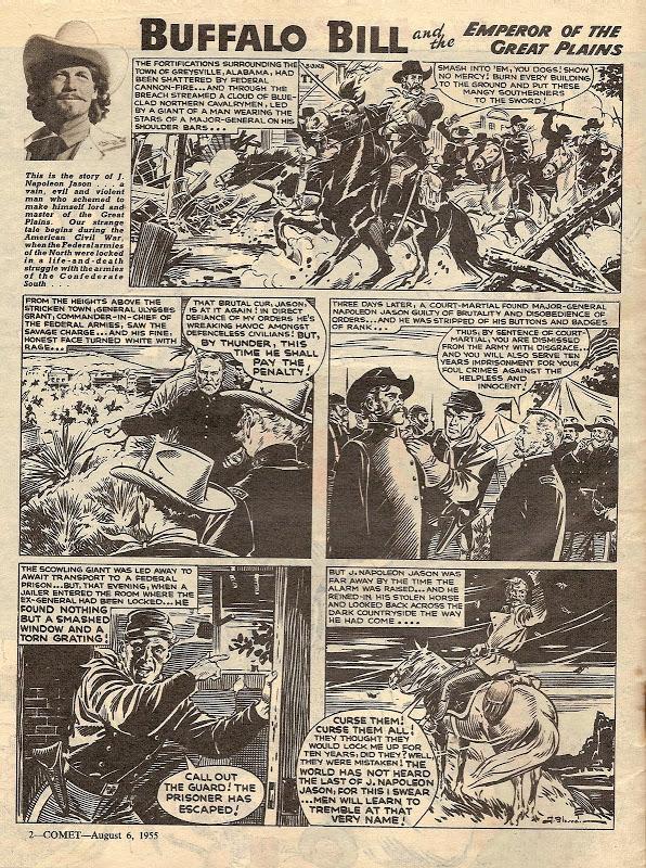 « Buffalo Bill », publié dans le magazine Comet.