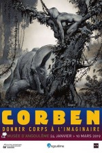 Corben affiche expo 19