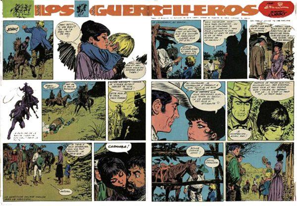 « Los Guerilleros » dans Spirou.