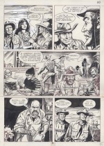 Une planche originale de « Tex Willer » par Blasco.