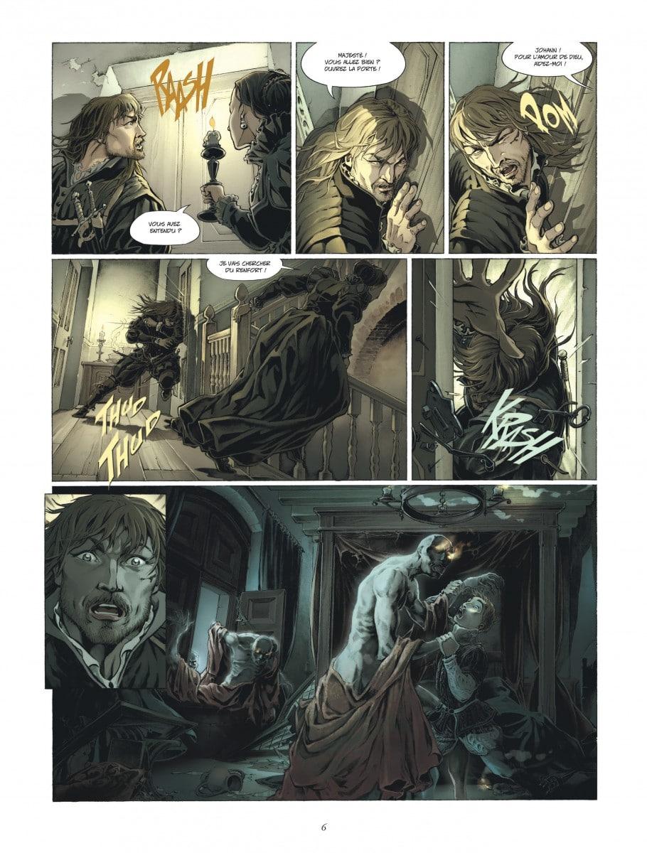 Les monstres sur le seuil (tome 2, planche 4 - Dargaud,2016)