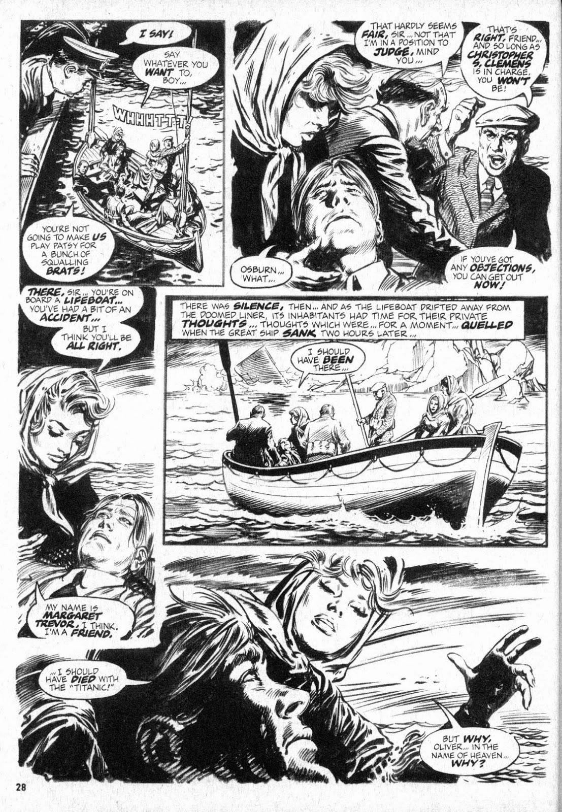 « Lifeboat ! » dans Vampire Tales.
