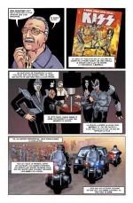 L'épisode incroyable avec le groupe Kiss