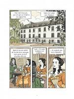 Madame de La Fayette et le duc de La Rochefoucauld, intimes littéraires (planche 1 - Dargaud 2019)