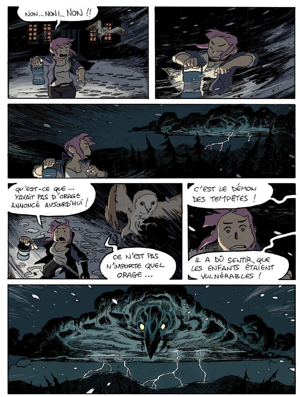 Le démon des tempêtes