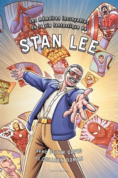 Mémoires incroyables Stan Lee couv