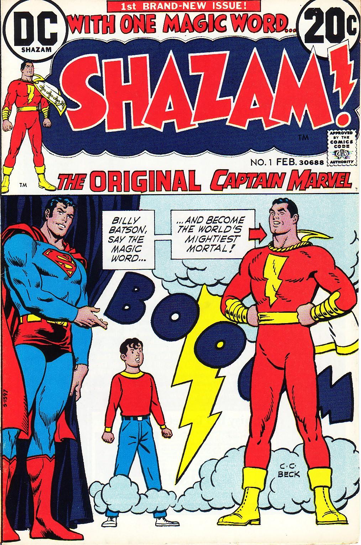 Shazam #1 (février 1973) par Nick Cardy, Murphy Anderson etC.C. beck