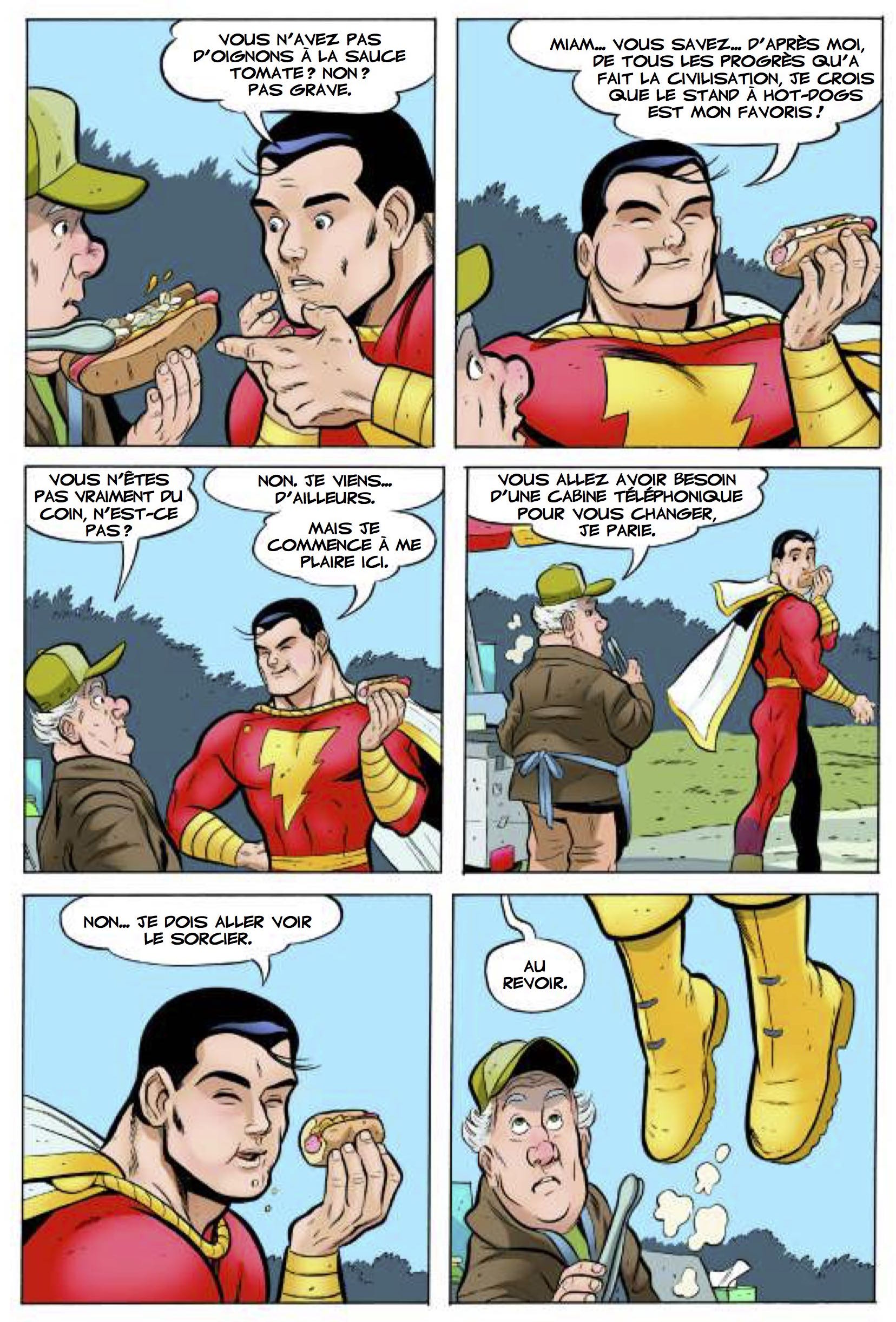 Shazam contre la société des monstres 42