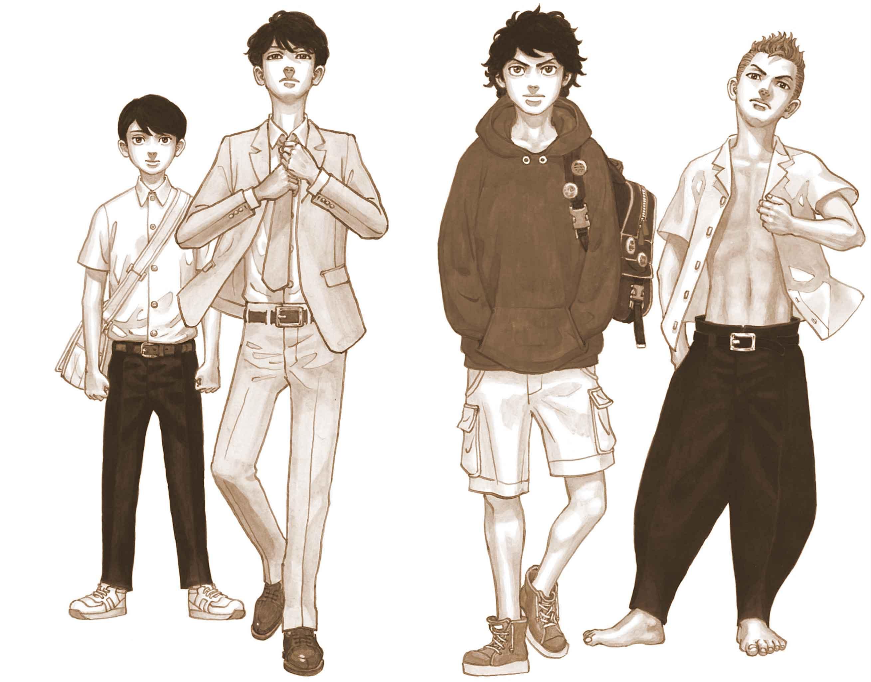 TokyoRevengers-jeune-vieux
