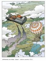 Les essais de Youri Gagarine (extrait des Reportages de Lefranc T10 - Casterman 2019)