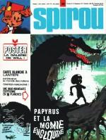 Les débuts de Papyrus : couverture pour Spirou n° 1867 (24 janvier 1974) et premières planches du tome 1