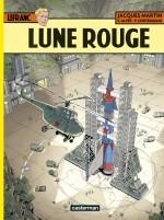 """Couverture de """"Lefranc T30 : Lune rouge"""" (Casterman - 2019)"""