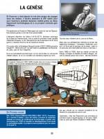 Les premières recherches spatiales (extrait des Reportages de Lefranc T10 - Casterman 2019)