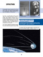 Spoutnik en orbite (extrait des Reportages de Lefranc T10 - Casterman 2019)