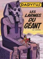 Couverture (1ère maquette) et premières planches du T9 (Dupuis, 1986)