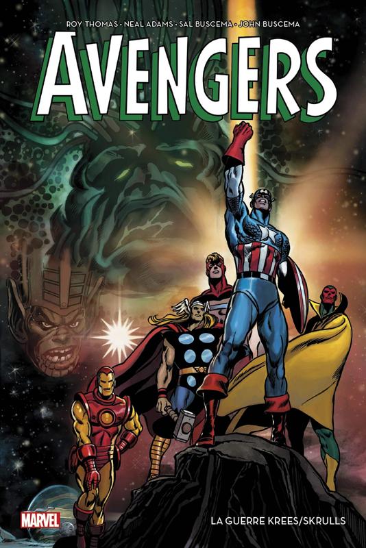 Avengers Krees Skrulls couv
