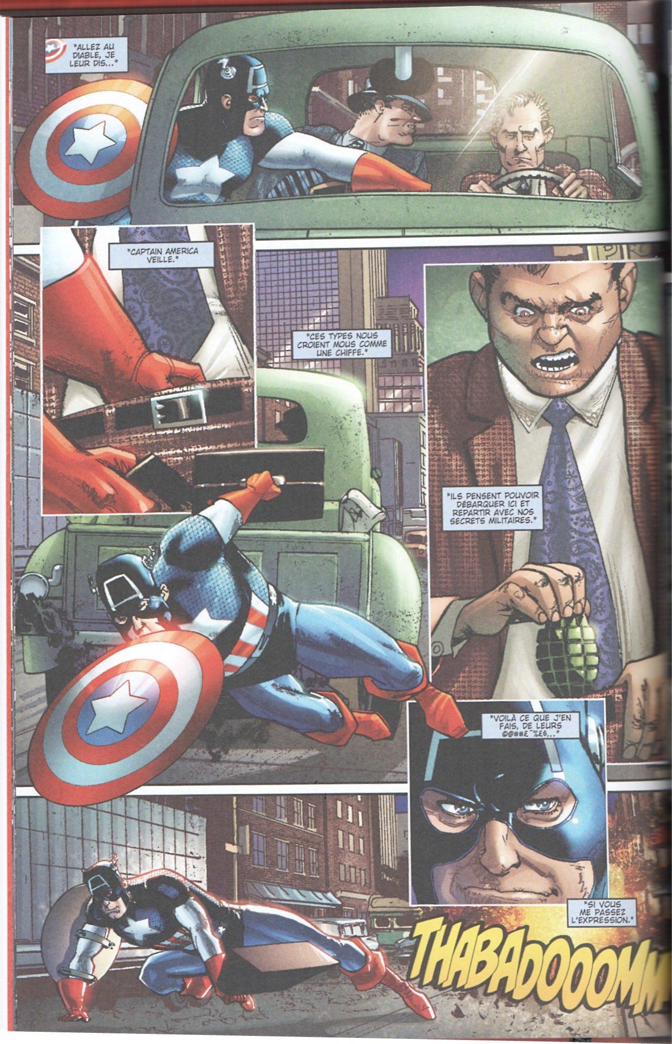 Captain America par Howard Chaykin