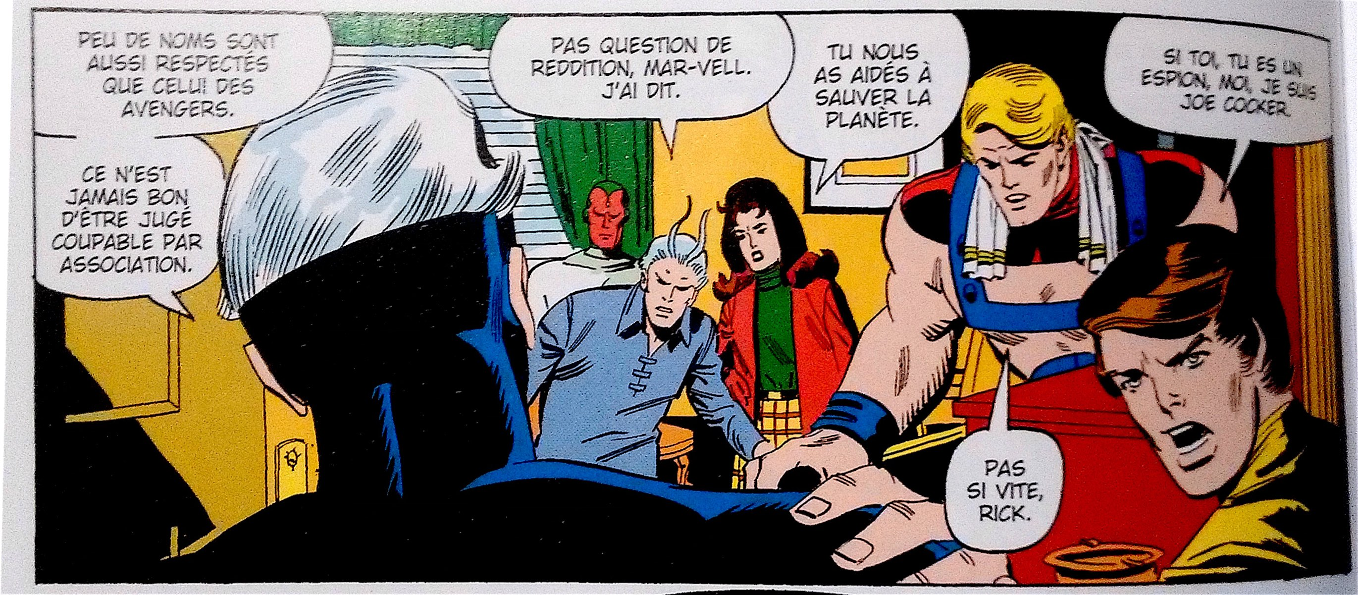 On est en 1971, ou bien ? © Panini comics - Roy Thomas, Sal Buscema