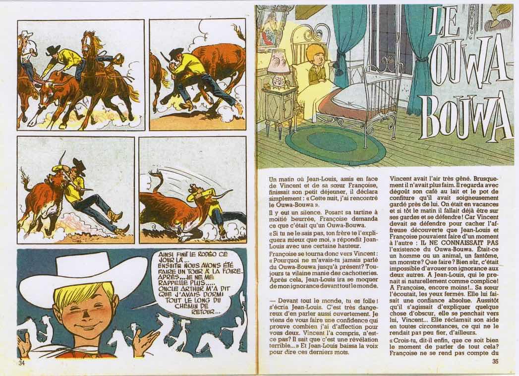 Récit complet de Jijé publié dans Les Histoires de Bonux-Boy.